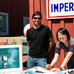 Momoko and Paul at Telegraph Cove