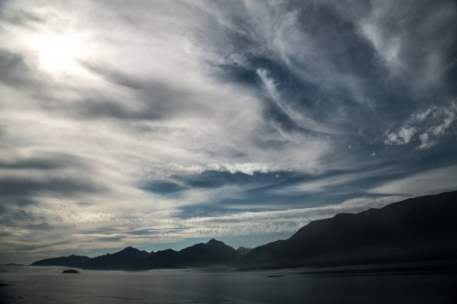 Dreamtime clouds- August 2012 – Johnstone Strait, BC, Canada