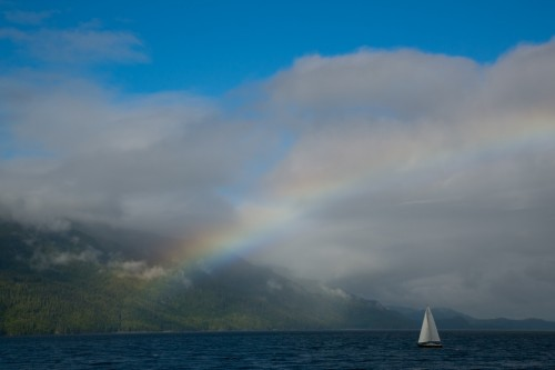 Aug 2, 2012 on the Johnstone Strait, BC Canada